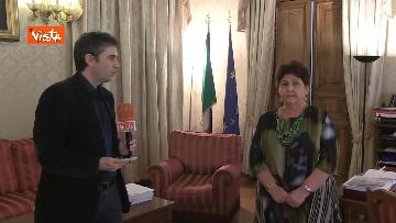 6 - L'intervista del Ministro dell'Agricoltura Teresa Bellanova all'Agenzia Vista