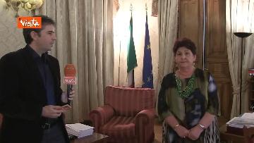 4 - L'intervista del Ministro dell'Agricoltura Teresa Bellanova all'Agenzia Vista