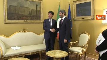 1 - Conte incontra Fico e Casellati