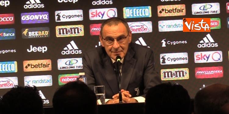 Sarri in conferenza stampa