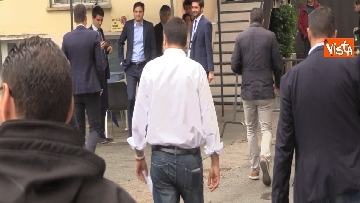4 - Salvini in conferenza stampa dopo i risultati delle elezioni europee