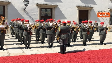 2 - Il Presidente della Repubblica Mattarella alla Hofburg di Vienna