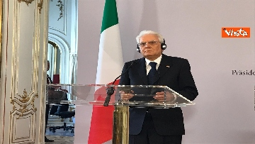 4 - La conferenza a Vienna con Mattarella ed il presidente austriaco Van der Bellen
