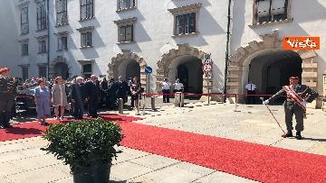3 - Il Presidente della Repubblica Mattarella alla Hofburg di Vienna
