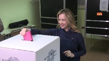 5 - Il voto di Giorgia Meloni