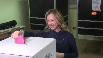 7 - Il voto di Giorgia Meloni