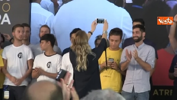 9 - Meloni chiude la manifestazione Atreju a Roma