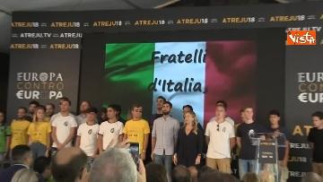 8 - Meloni chiude la manifestazione Atreju a Roma