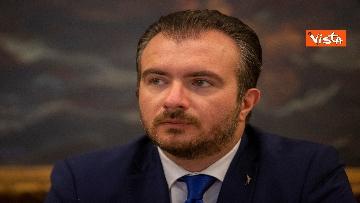 1 - Salvini in conferenza stampa alla Camera dei Deputati
