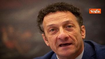 5 - Salvini in conferenza stampa alla Camera dei Deputati
