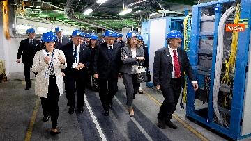 1 - Il Presidente della Repubblica Sergio Mattarella al Cern di Ginevra