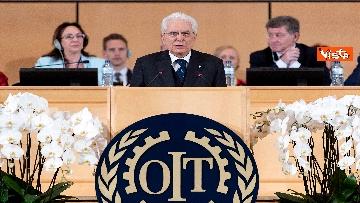 1 - Mattarella alla Sessione di Alto livello della Conferenza internazionale del lavoro