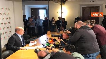1 - La conferenza stampa del segretario PD Nicola Zingaretti dopo le elezioni europee