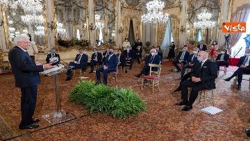 2 - Mattarella incontra al Quirinale i Presidenti di Regione