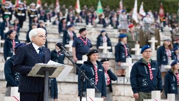 3 - Il Presidente Mattarella al 75° anniversario della battaglia di Montecassino.