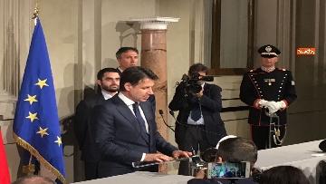 15 - Giuseppe Conte presenta la lista dei Ministri
