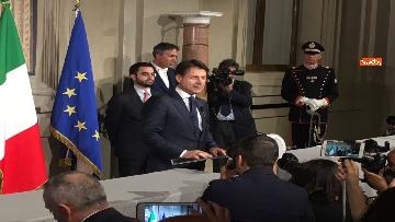 17 - Giuseppe Conte presenta la lista dei Ministri