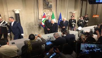7 - Giuseppe Conte presenta la lista dei Ministri