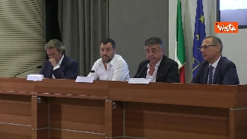 5 - Salvini in conferenza stampa al Viminale