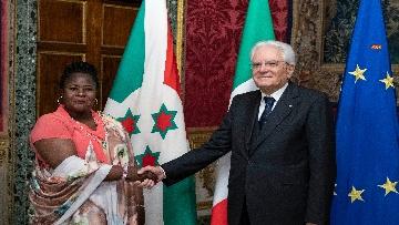 1 - Mattarella incontra i nuovi ambasciatori per la consegna delle lettere di credenziali
