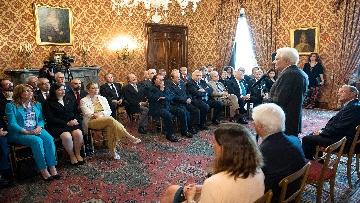 5 - Mattarella incontra una Delegazione della Lega Italiana per la lotta contro i tumori