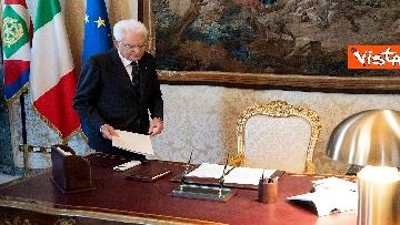1 - Il Presidente della Repubblica Mattarella si prepara per le Consultazioni