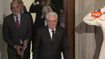 1 - La dichiarazione di Mattarella al termine delle Consultazioni