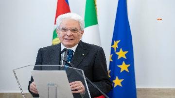 4 - Mattarella alla cerimonia di intitolazione dell'Aula XIII a Massimo D'Antona.