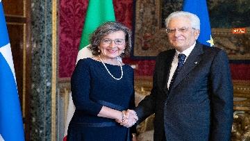 1 - Mattarella incontra i nuovi ambasciatori per la consegna delle lettere credenziali