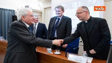 1 - Mattarella alla presentazione dell'edizione digitale dell'epistolario di De Gasperi