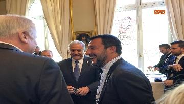 8 - Salvini in Francia per il G7 dei Ministri degli Interni