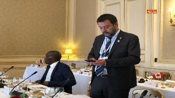 15 - Salvini in Francia per il G7 dei Ministri degli Interni