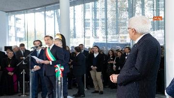 1 - Mattarella all'inaugurazione del nuovo Campus Bocconi
