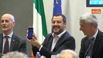5 - Salvini alla presentazione della Mercurio App della Polizia di Stato