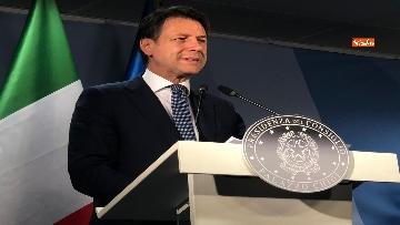 6 - La conferenza stampa di Giuseppe Conte al termine del Consiglio Europeo