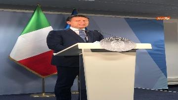 2 - La conferenza stampa di Giuseppe Conte al termine del Consiglio Europeo