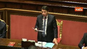 2 - Conte al Senato per l'informativa sull'emergenza Coronavirus