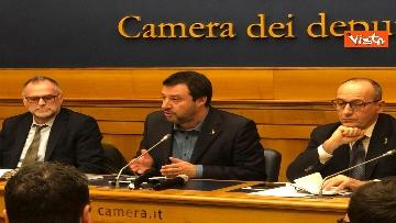 7 - La conferenza di Salvini alla Camera dei Deputati
