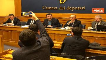 9 - La conferenza di Salvini alla Camera dei Deputati
