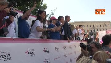 2 - Raggi e Zingaretti alla Race for the Cure a Roma