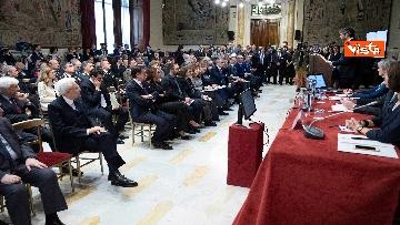 3 - Mattarella alla presentazione del rapporto dell'autorità garante dei diritti dei detenuti
