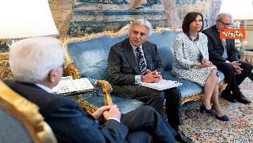 1 - Mattarella incontra una delegazione dell'Autorità di delegazione dei trasporti