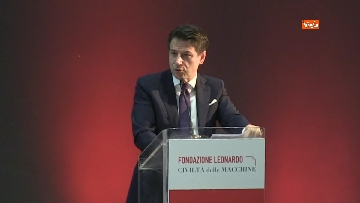 6 - Conte all'inaugurazione della fondazione Leonardo