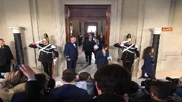 17 - Mattarella conferisce a Giuseppe Conte l'incarico di formare il Governo