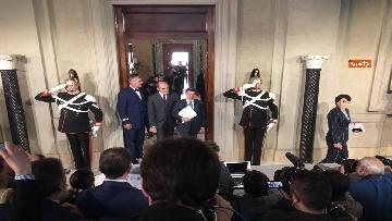 15 - Mattarella conferisce a Giuseppe Conte l'incarico di formare il Governo