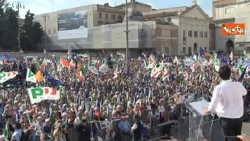 4 - La manifestazione del PD in Piazza del Popolo