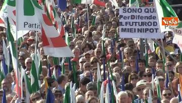 6 - La manifestazione del PD in Piazza del Popolo