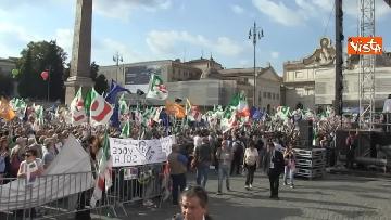 3 - La manifestazione del PD in Piazza del Popolo