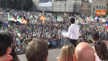 5 - La manifestazione del PD in Piazza del Popolo