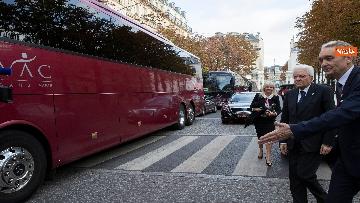 8 - Chirac, Mattarella alla messa solenne a Parigi